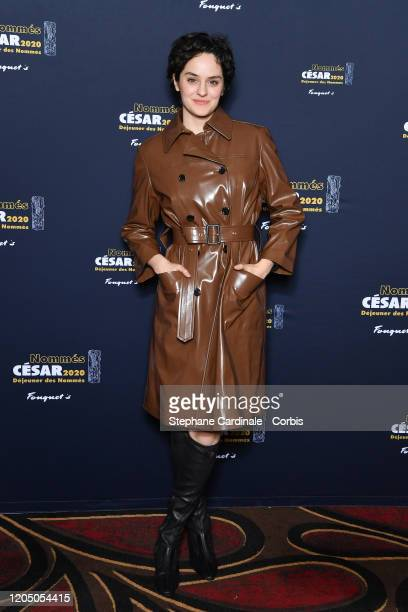 Noemie Merlant nominated for 'Best Actress' in 'Portrait de la jeune fille en feu' attends the Cesar 2020 Nominee Luncheon At Le Fouquet's on...
