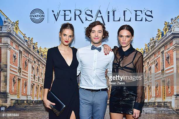 Noemie Schmidt Alexander Vlahos and Anna Brewster attend Ovation TV Celebrates October 1st Premiere of the HighlyAnticipated Drama Versailles with...