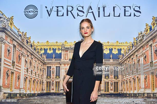 Noemie Schmidt attends Ovation TV Celebrates October 1st Premiere of the HighlyAnticipated Drama Versailles with Cast Members CoCreator and Friends...