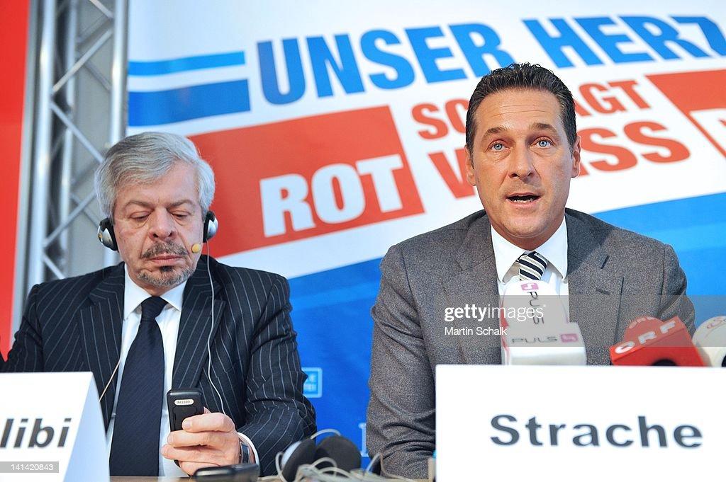 Syrian Opposition Leaders Speak To The Media In Vienna