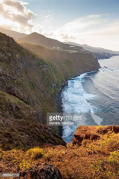 """""""nogales"""" beach (la palma island. canaries. spain) - dähncke fotografías e imágenes de stock"""