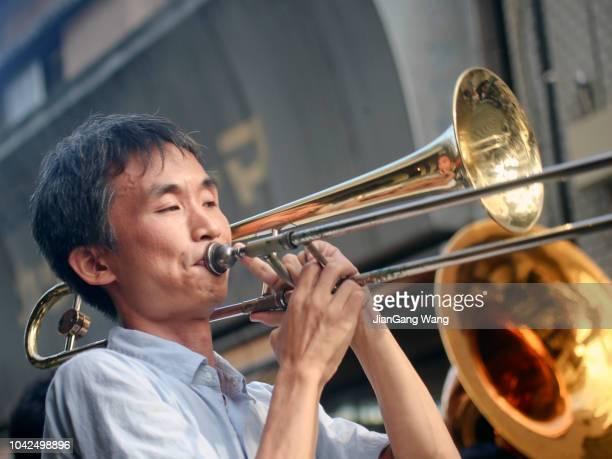 NOGE Jazz de Bon Odori 2018 - Bon Odori am Sonntag