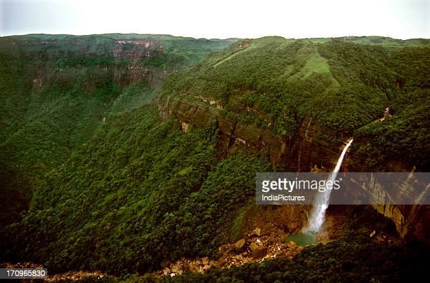 Nohkalikai Falls in Cherrapunjee at Meghalaya