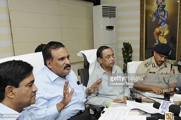 NoidaGreater Noida authority CEO Rama Raman Principal Secretary UP government Deepak Singhal Uttar Pradesh DGP Anand Lal Banerjee and IG Meerut zone...