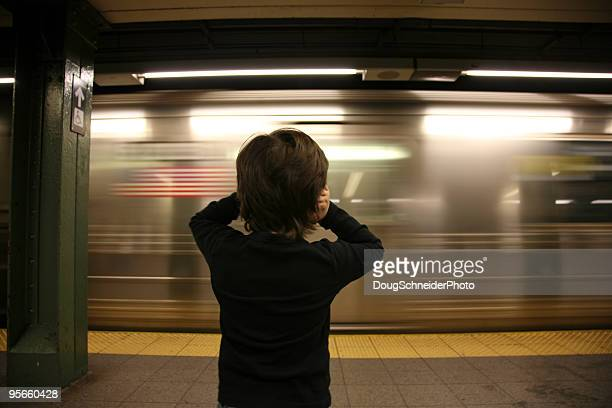 Noisy NYC Subway