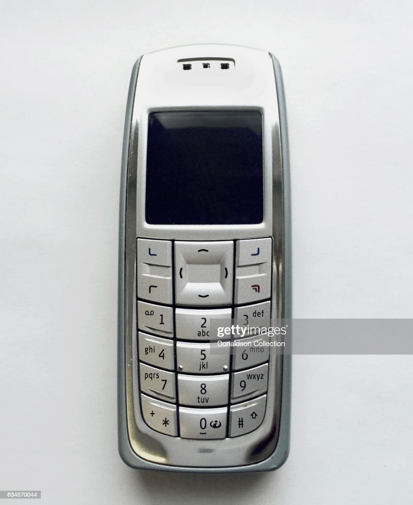 A Nokia 3120b Cell Phone Produced Circa 2004 News Photo Getty Images Vintage