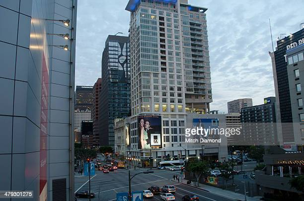 nokia center - microsoft theater los angeles stock pictures, royalty-free photos & images