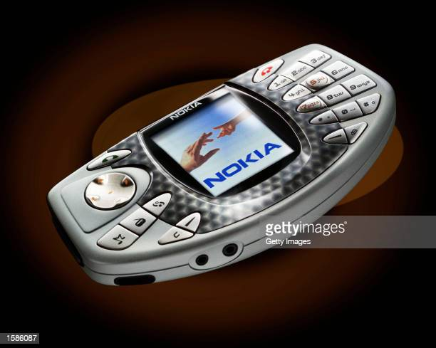 Nokia introduces the 'NGage' mobile phone shown in this handout photo on November 4 2002 in Munich Germany This new device from Nokia which combines...