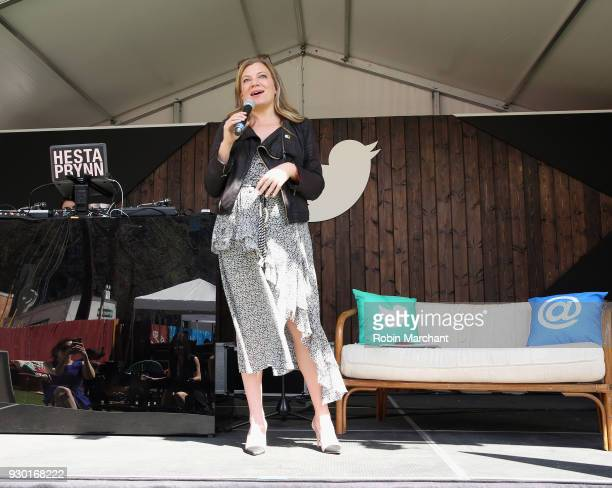 Nola Weinstein at Twitter's #SheInspiresMe brunch at SXSW on March 10 2018 in Austin Texas