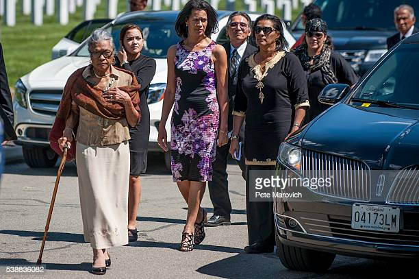 Nola Whitfield wife of fivetime Olympian gold medalist and Tuskegee Airman 2nd Lt Malvin Greston Marvelous Mal Whitfield and Fredricka Whitfield his...
