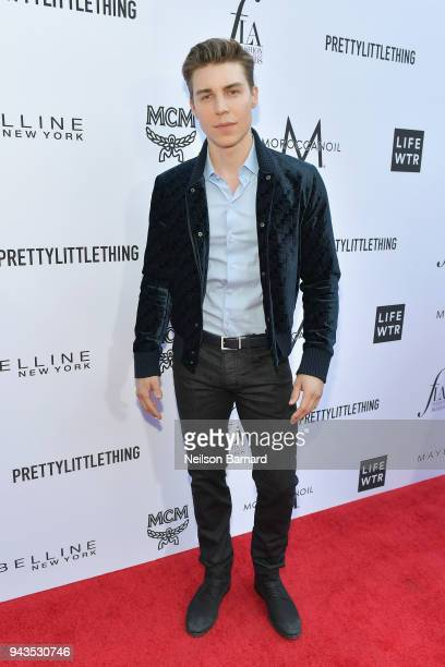 Nolan Gerard Funk attends The Daily Front Row's 4th Annual Fashion Los Angeles Awards at Beverly Hills Hotel on April 8 2018 in Beverly Hills...