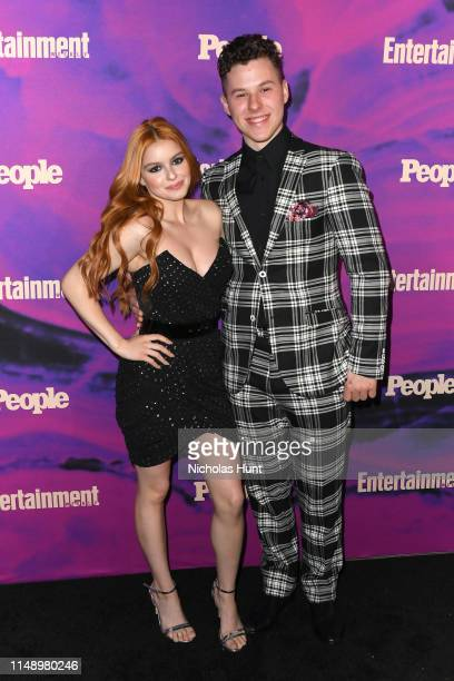 Nolan Gould and Ariel Winter attend the People Entertainment Weekly 2019 Upfronts at Union Park on May 13 2019 in New York City