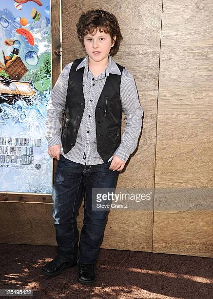 Nolan Gould arrives at 'Yogi Bear 3D' Premiere in Westwood Village on December 11 2010 in Los Angeles California