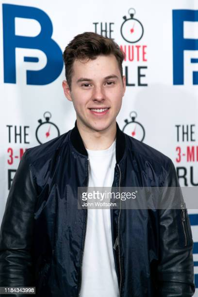 Nolan Gould attends red carpet event featuring business influencers celebrities and leading network executives gather to celebrate Brant Pinvidic's...