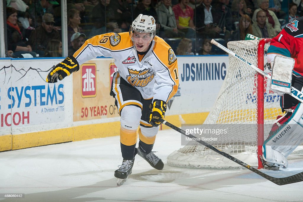 Brandon Wheat Kings v Kelowna Rockets : News Photo