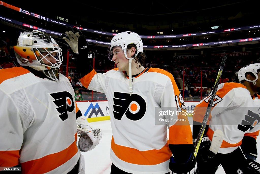 Philadelphia Flyers v Carolina Hurricanes