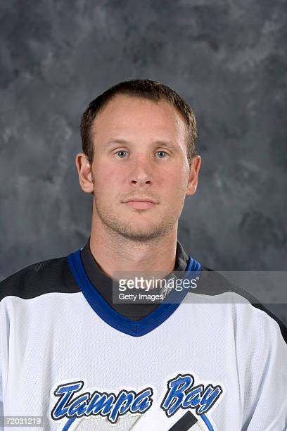 Nolan Pratt of the Tampa Bay Lightning poses for a portrait at the St Pete Times Forum on September 14 2006 in Tampa Florida