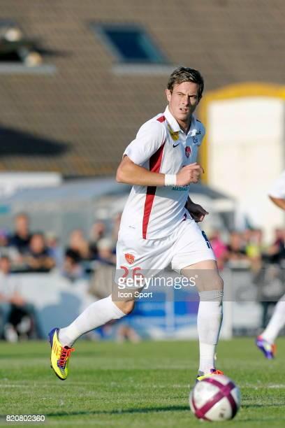 Nolan ROUX Caen / Brest Match amical