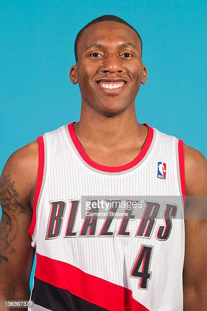 Nolan Smith of the Portland Trail Blazers poses for a portrait during Media Day on December 16 2011 at the Rose Garden Arena in Portland Oregon NOTE...