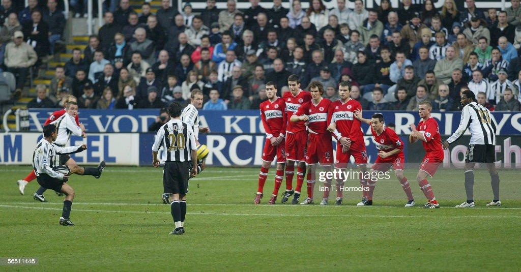 Newcastle United v Middlesbourgh : News Photo
