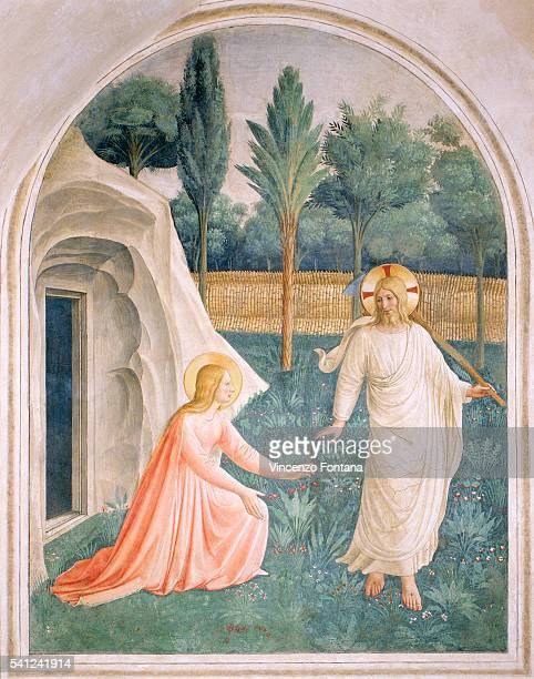Noli Me Tangere by Fra Angelico and Workshop