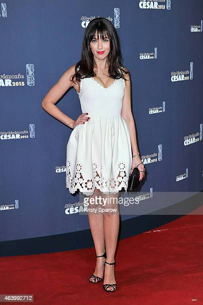 Nolwenn Leroy attends the 40th Cesar Film Awards at Theatre du Chatelet on February 20 2015 in Paris France
