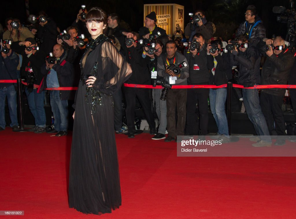 Nolwenn Leroy attends the NRJ Music Awards 2013 at Palais des Festivals on January 26, 2013 in Cannes, France.