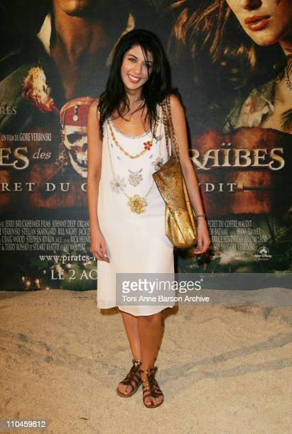 Nolwenn Leroy during Pirates of The Caribbean Dead Man's Chest Paris Premiere at Gaumont Marignan Theater in Paris France