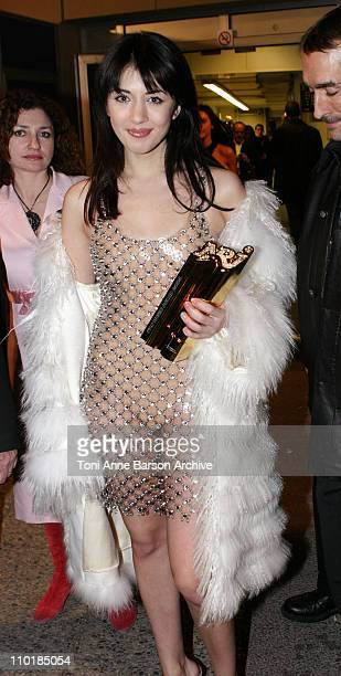 Nolwenn Leroy of Star Academy 2 during 2004 NRJ Music Awards Back Exit / After Show Departure at Palais des Festivals in Cannes France