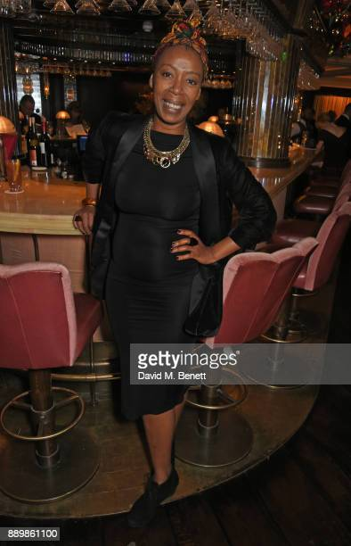 Noma Dumezweni attends 'One Night Only At The Ivy' in aid of Acting for Others on December 10 2017 in London England
