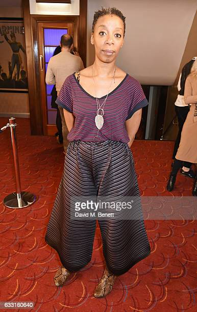 Noma Dumezweni attends The Critics' Circle Theatre Awards at The Prince of Wales Theatre on January 31 2017 in London England
