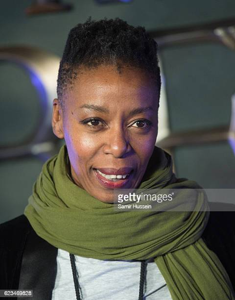 Noma Dumezweni attends the European premiere of 'Fantastic Beasts And Where To Find Them' at Odeon Leicester Square on November 15 2016 in London...