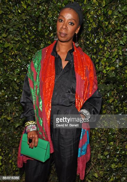 Noma Dumezweni attends the London Evening Standard Theatre Awards 2017 at the Theatre Royal Drury Lane on December 3 2017 in London England