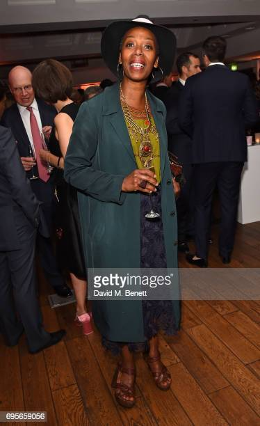 Noma Dumezweni attends The Old Vic 199 Summer Party at The Brewery on June 13 2017 in London England