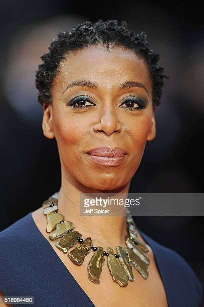 Noma Dumezweni attends The Olivier Awards with Mastercard at The Royal Opera House on April 3 2016 in London England