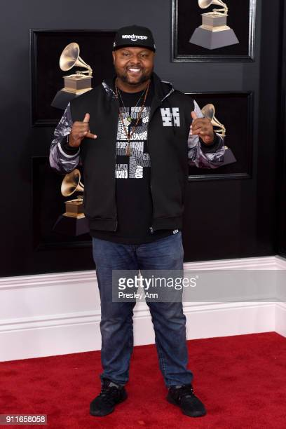 Nomad attends the 60th Annual GRAMMY Awards Arrivals at Madison Square Garden on January 28 2018 in New York City