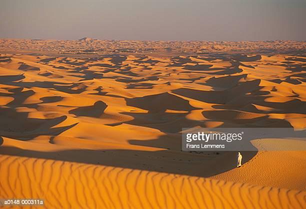 Nomad in Sahara Desert