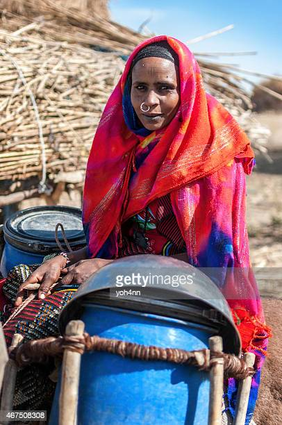 nomad portrait - sudan stock pictures, royalty-free photos & images