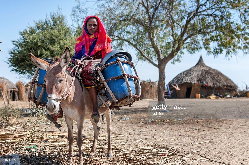 Nomad woman : Stock Photo