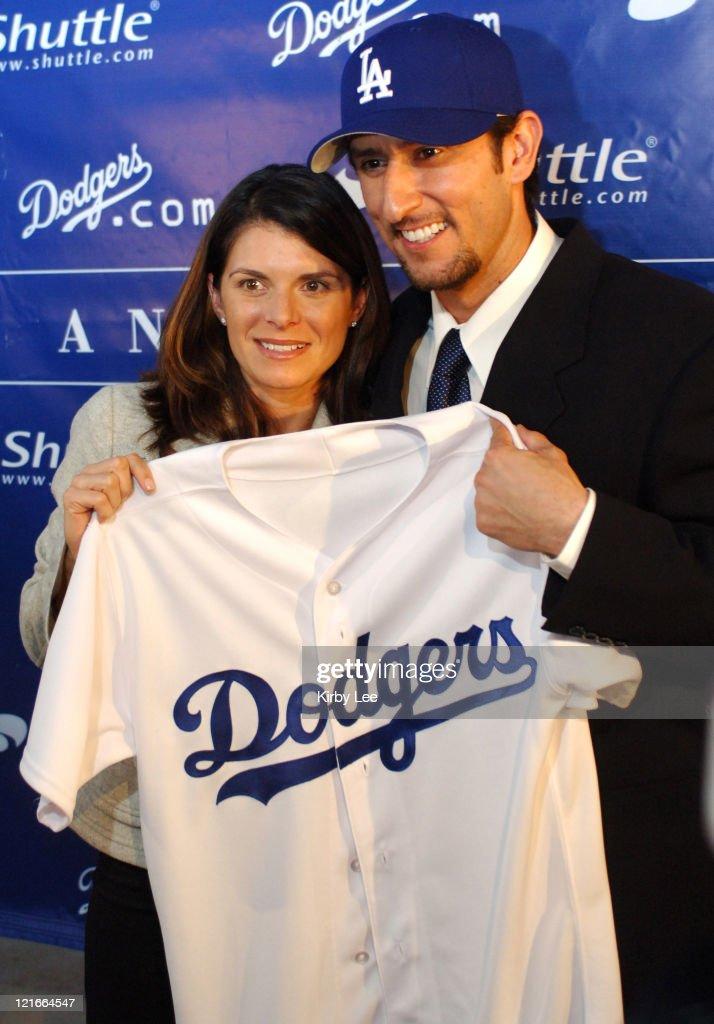 Los Angeles Dodgers - Nomar Garciaparra Signing Press Conference - December 19,