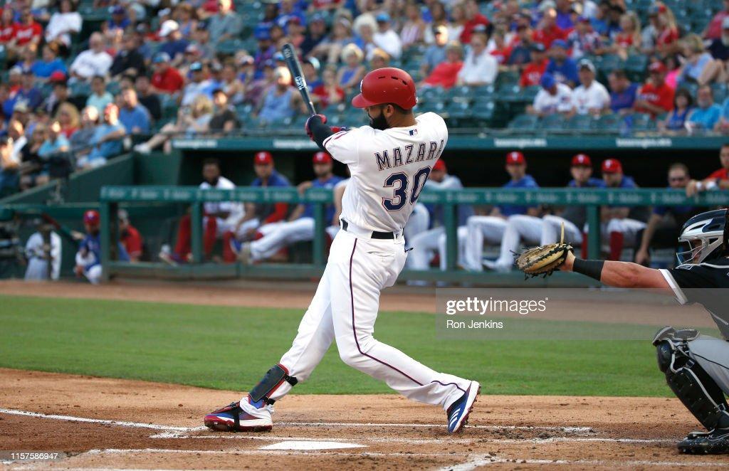 Chicago White Sox  v Texas Rangers : News Photo