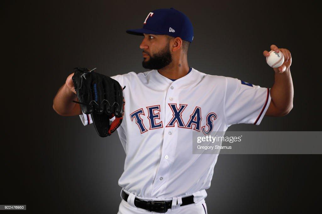 Texas Rangers Photo Day : News Photo