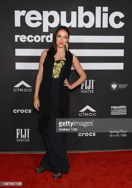 No/Me attends Republic Records Grammy after party at Spring Place Beverly Hills on February 10 2019 in Beverly Hills California