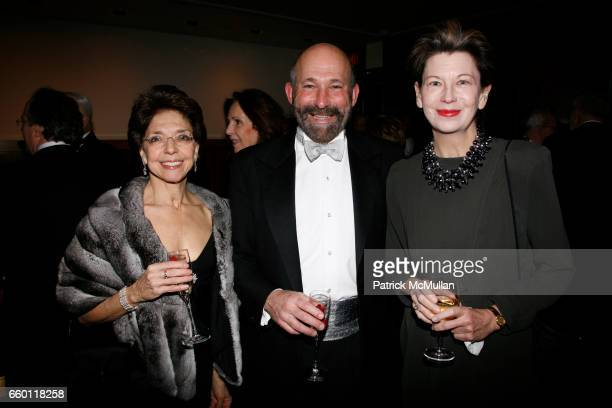 Nomi Ghez Michael Siegal and Lynn Loacker attend NEW YORK CITY OPERA Winter Gala at Carnegie Hall on January 15 2009 in New York City