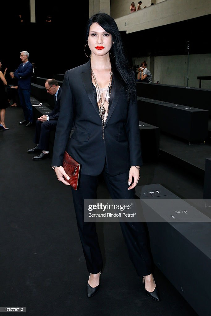 Dior Homme : Front Row - Paris Fashion Week - Menswear Spring/Summer 2016