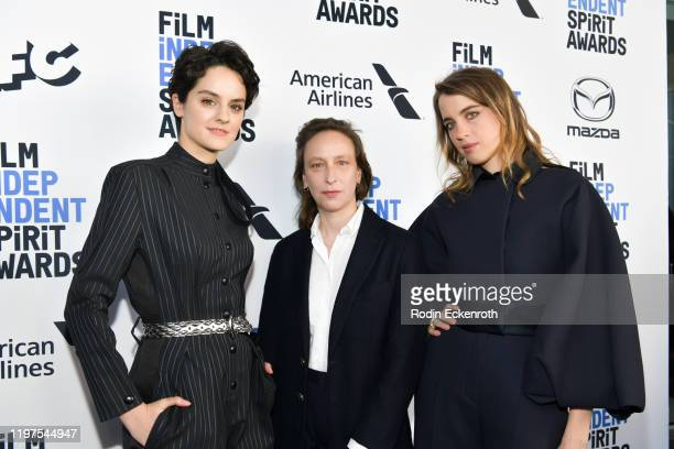 Noémie Merlant Céline Sciamma and Adele Haenel attend the 2020 Film Independent Spirit Awards Nominees Brunch at BOA Steakhouse on January 04 2020 in...