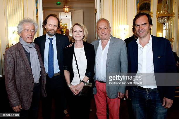 Nominated for Moliere de la Comedie with On ne se mentira jamais stage director JeanLuc Moreau President of Molieres JeanMarc Dumontet Nominated for...
