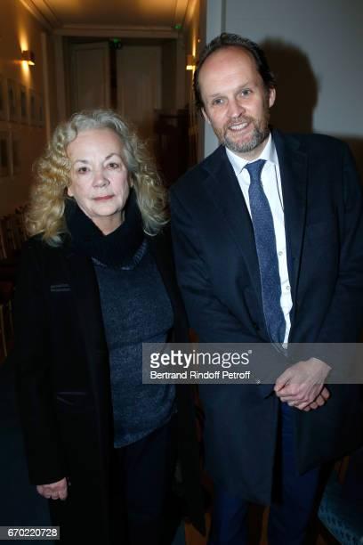 Nominated for 'Moliere de Meilleur Metteur en scene d'un spectacle de Theatre prive' for 'Les femmes savantes' Catherine Hiegel and President de...