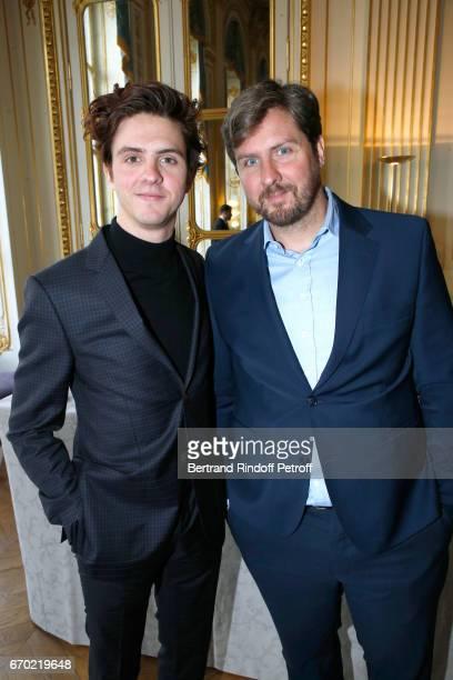 Nominated for 'Moliere du Meilleur Seul en scene' pour 'Venise n'est pas en Italie' Thomas Soliveres and his brother Nominated for 'Moliere du...