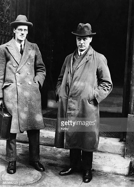 Nomination day at the Westminster Abbey division by-election in London, 12th March 1924. Socialist candidate Archibald Fenner Brockway , Baron...